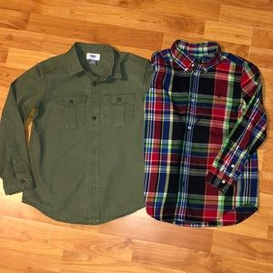 Other - Boys Long Sleeve Shirt Bundle